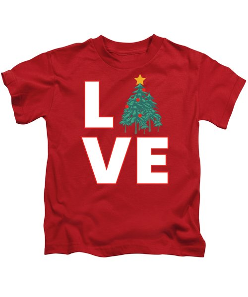 Love Christmas Kids T-Shirt