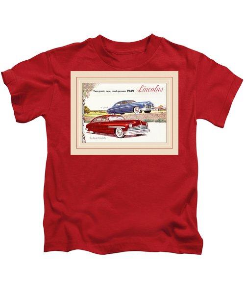 Automotive Art 68 Kids T-Shirt