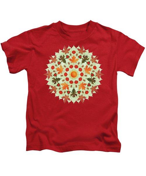 Autumn Mandala Kids T-Shirt