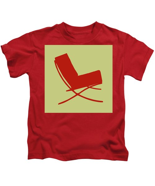 Barcelona Chair  Kids T-Shirt