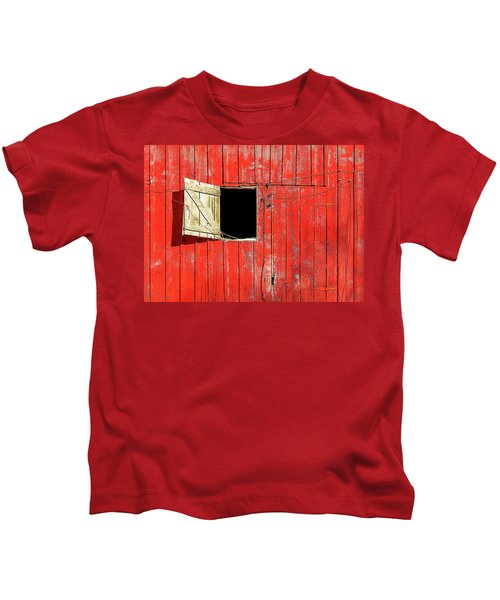 Barn Door Open Kids T-Shirt