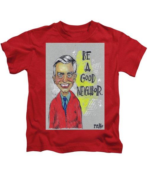 Be A Good Neighbor Kids T-Shirt