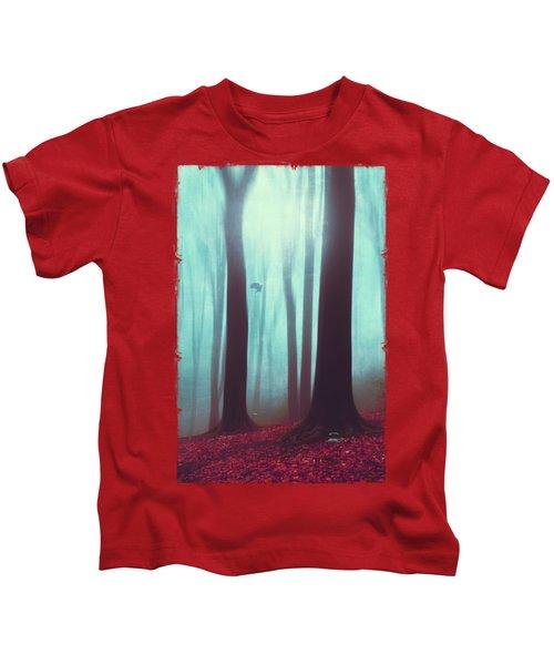 Between - Mystical Forest Kids T-Shirt