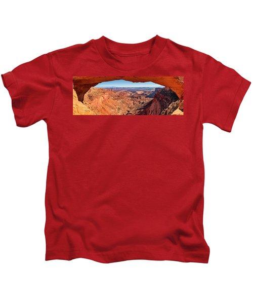 Buck Canyon Through Mesa Arch Kids T-Shirt