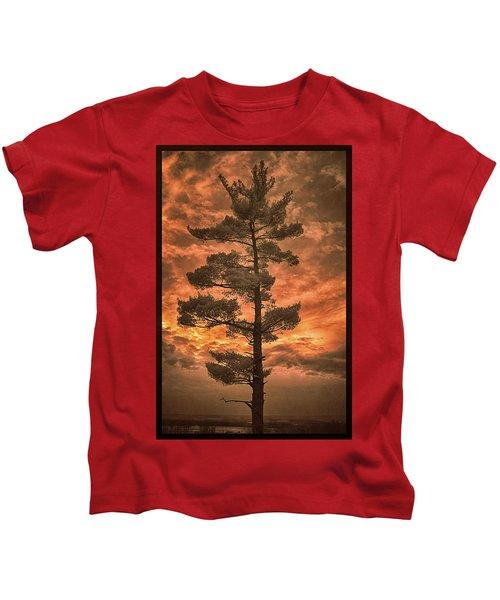 Burning Sky Kids T-Shirt