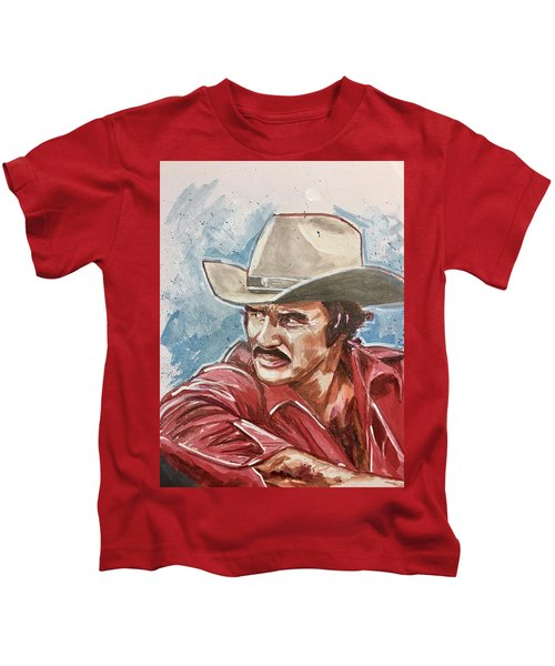 Burt Reynolds Kids T-Shirt