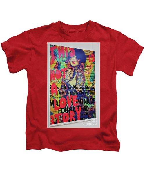 Catch Original This Is Not A Love Story By Digigraphie By Epson Kids T-Shirt