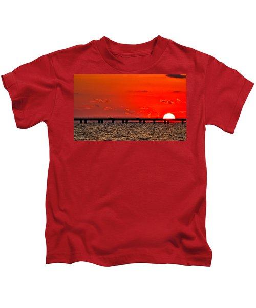 Causeway Sunset Kids T-Shirt