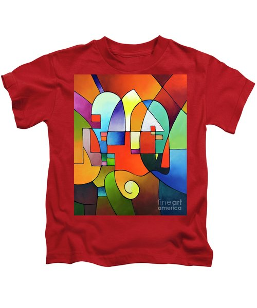 Clear Focus 2, Canvas Two Kids T-Shirt