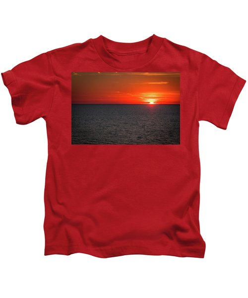 Clearwater Sunset Kids T-Shirt