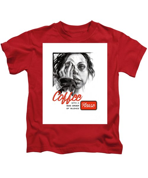 Coffee With A Side Kids T-Shirt