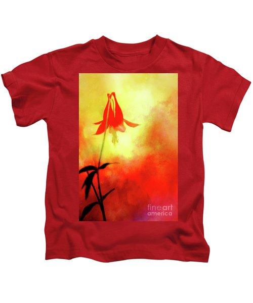 Columbine Sunset Kids T-Shirt