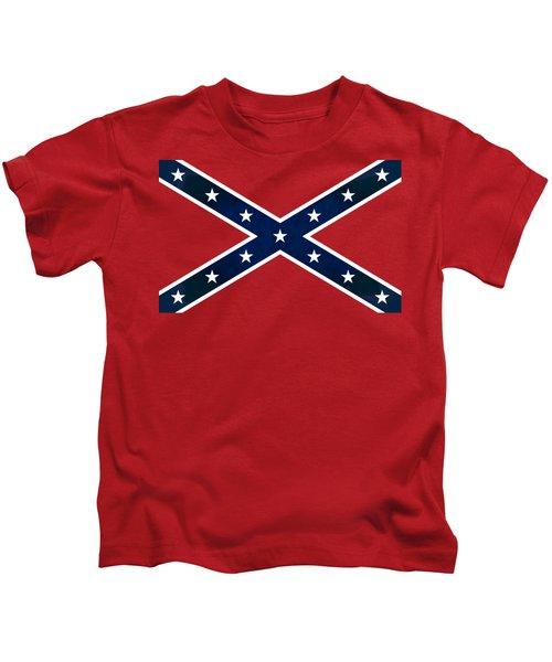 Confederate Stars And Bars T-shirt Kids T-Shirt