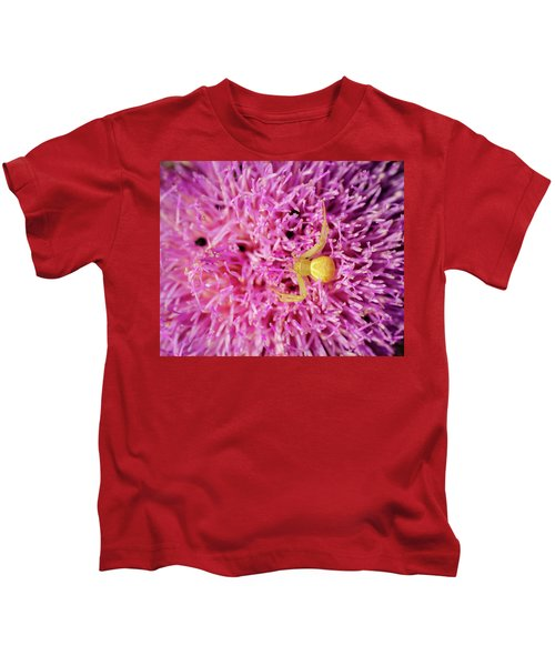 Crab Spider Kids T-Shirt