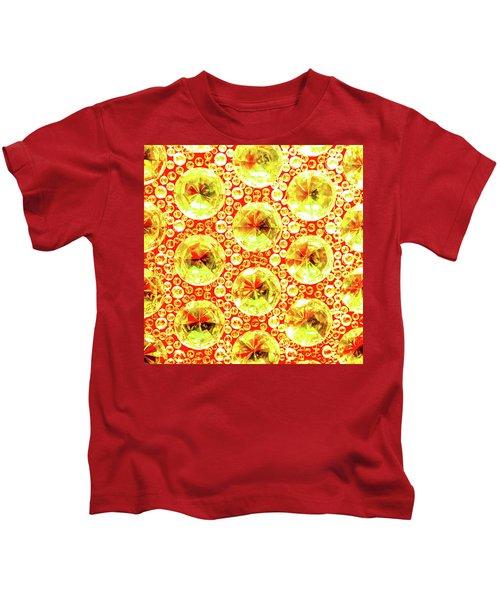 Cut Glass Beads 3 Kids T-Shirt