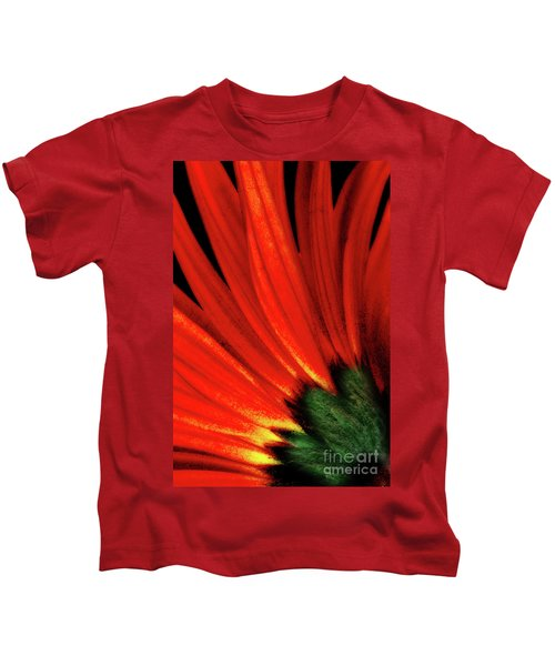 Daisy Aflame Kids T-Shirt