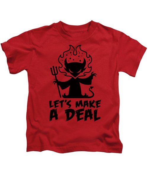 Deal With The Devil Kids T-Shirt