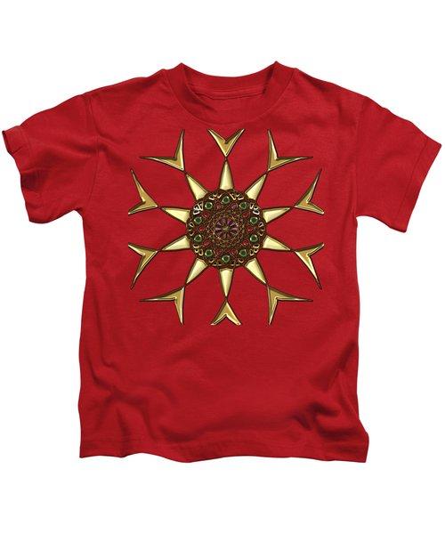 Diamond Ring Mandala Kids T-Shirt