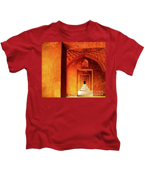 Doors Of India - Taj Mahal Kids T-Shirt