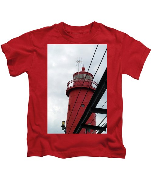 Dressed In Red Kids T-Shirt