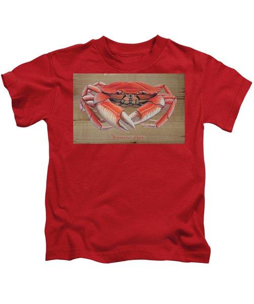 Dungeness Crab Kids T-Shirt