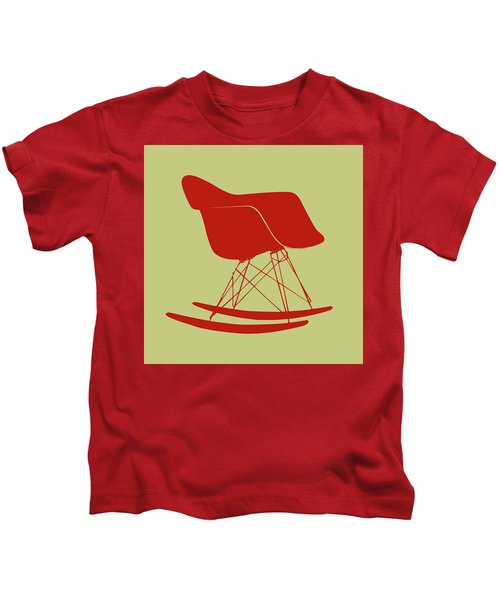 Eames Rocking Chair Kids T-Shirt