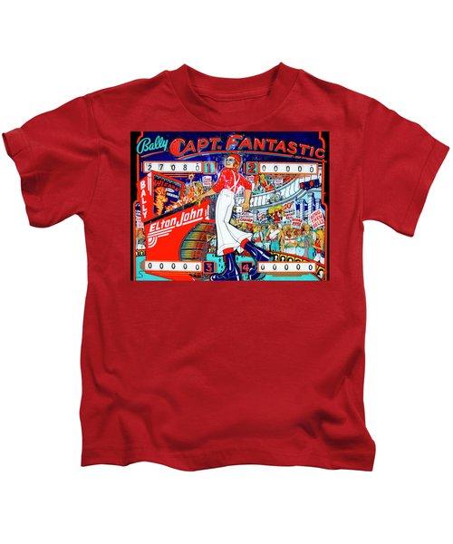 Elton John Pinball Wizard Kids T-Shirt