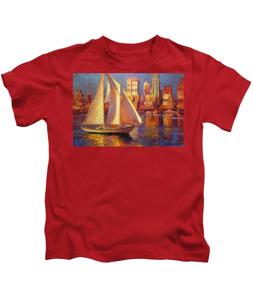Emerald City Twilight Kids T-Shirt