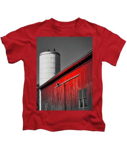 Fading Barn Kids T-Shirt
