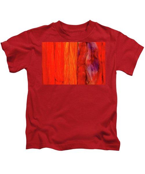 Fall Fibers 3 Kids T-Shirt