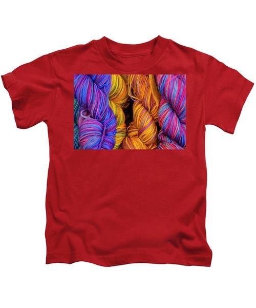 Fall Fibers Kids T-Shirt