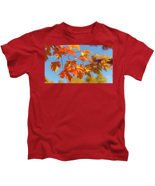 Fall Foliage Kids T-Shirt