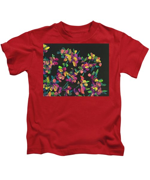 Floral Interpretation - Lantana Study Kids T-Shirt