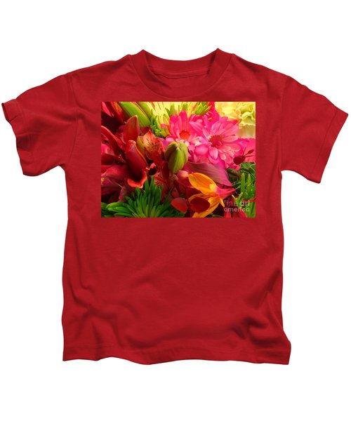 Flower Bunch Kids T-Shirt