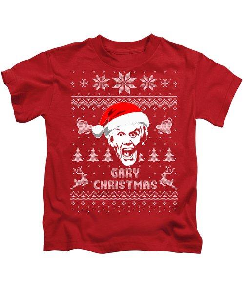 Gary Busey Christmas Shirt Kids T-Shirt
