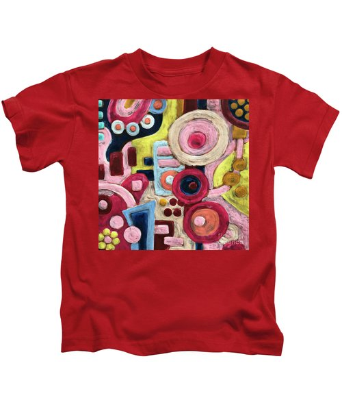 Geometric Abstract 1 Kids T-Shirt