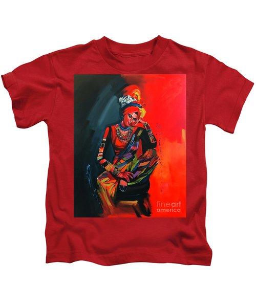 Goddess Of Colors Kids T-Shirt