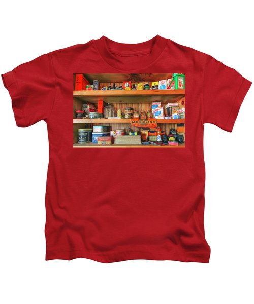 Good Old Fashioned Country Painting Kids T-Shirt