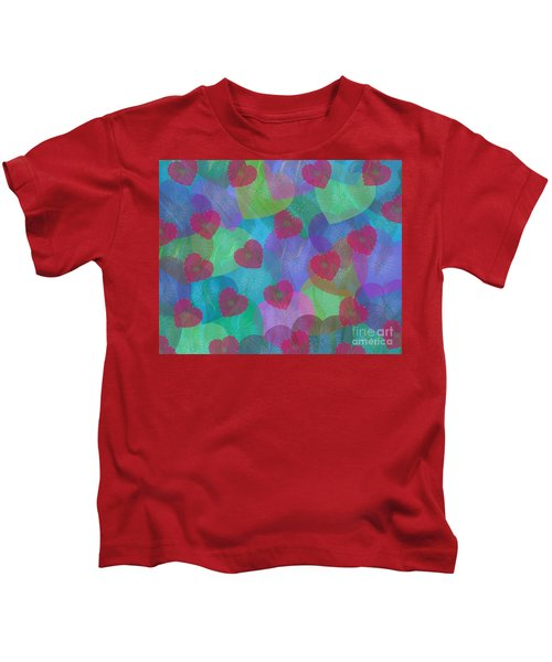 Hearts Aflame Kids T-Shirt