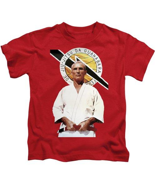 Helio Gracie Jiu Jitsu Grandmaster - T-shirt Kids T-Shirt