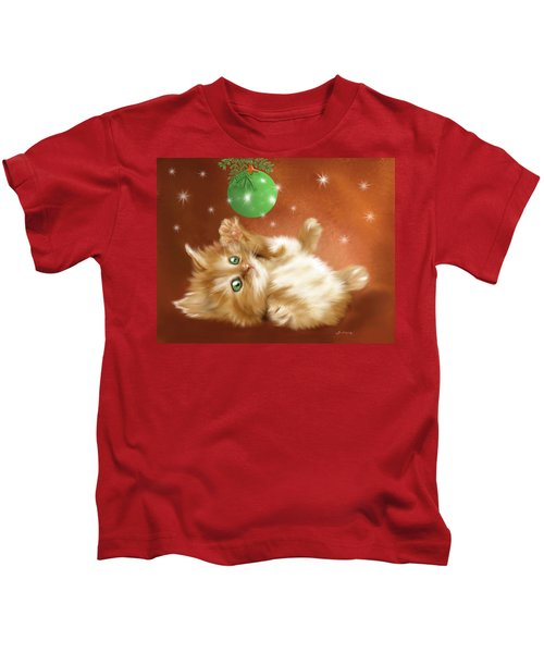 Holiday Kitty Kids T-Shirt