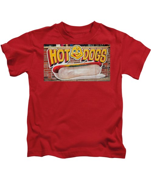 Hot Dogs Kids T-Shirt
