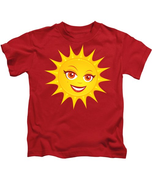 Hot Summer Sun Kids T-Shirt