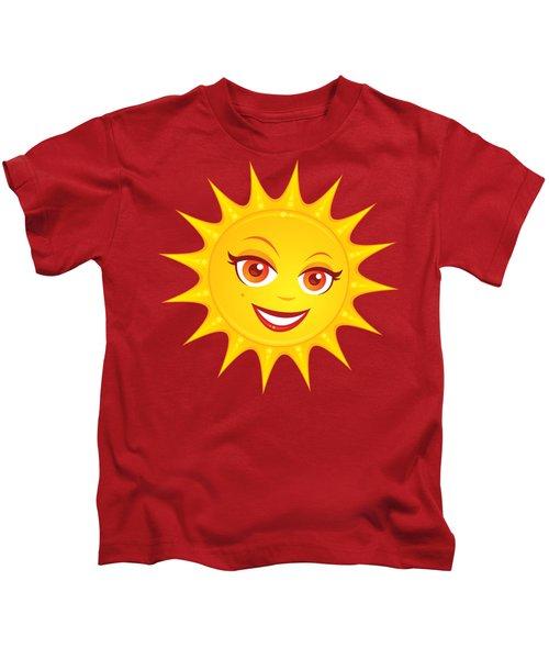 Hot Summer Sun Kids T-Shirt