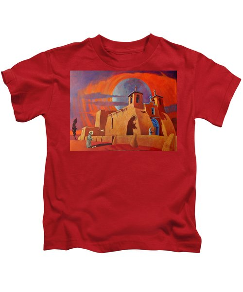 In The Shadow Of St. Francis Kids T-Shirt