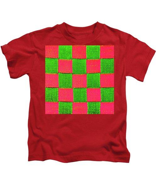 Interlaced Canvas Straps 2 Kids T-Shirt