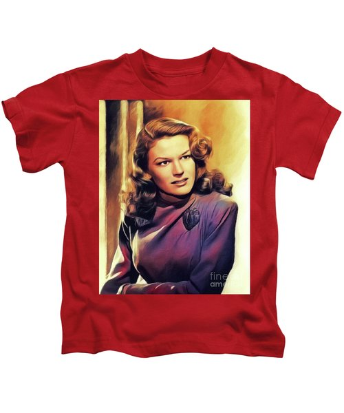 K. T. Stevens, Vintage Actress Kids T-Shirt