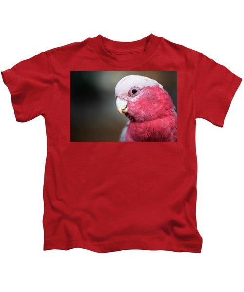 Large Pink And Grey Galah. Kids T-Shirt