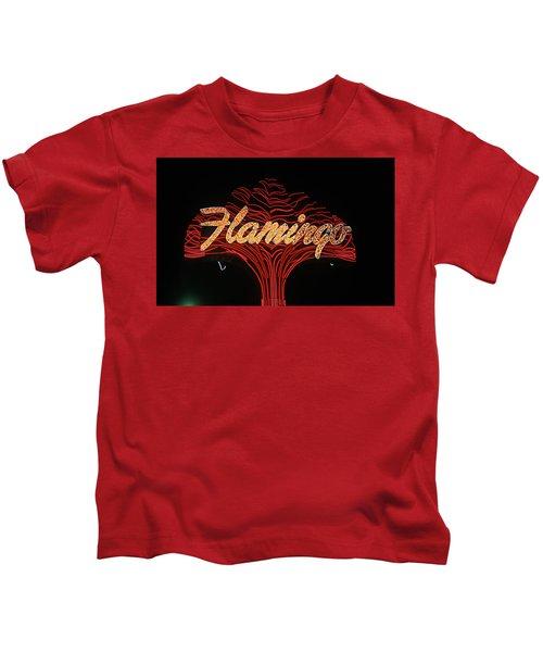 Las Vegas 1984 #11 Kids T-Shirt