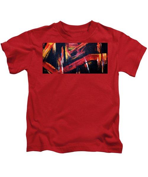 Lines Of Fire Kids T-Shirt